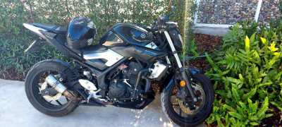 Yamaha MT-03 2015/16 in very good condition