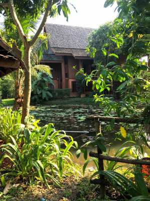 Beautiful Thai Teak House for Venue Rental