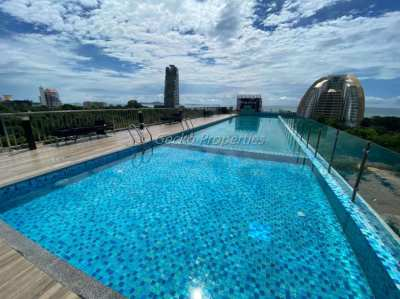 2 bed 2 bath Stylish Condo for sale in Prima Wongamat
