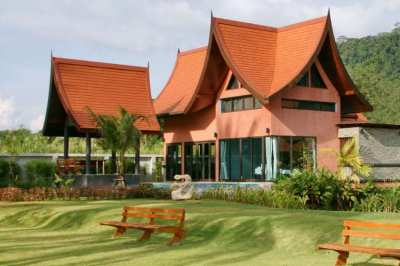 MODERN SEAFRONT THAI STYLE VILLA - PRIVA POOL -  FANTASTIC SEAVIEW