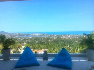 CHAWENG HILL .3 BEDROOM VILLA WITH SEAVIEW