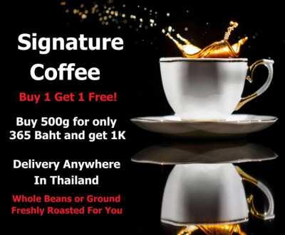 High Quality 100% Arabica Fresh Coffee Beans or Roasted Coffee