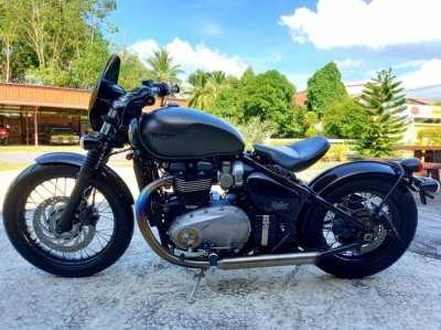 Triumph Bonneville Bobber 1200 cc.ปี 2017