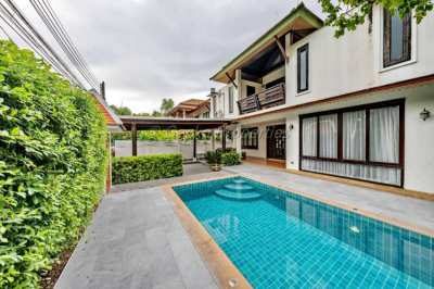 4 bed 4 bath private pool House for rent in Central Pattaya