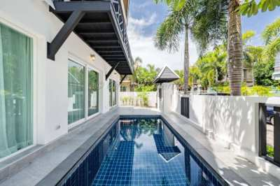 4 bed 3 bath with private pool House for rent in Central Pattaya