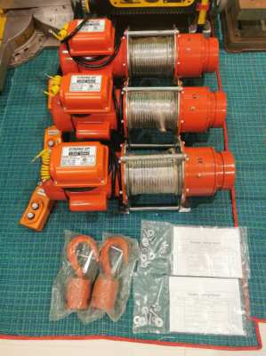 300kg Electric Winch (3 Available)