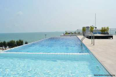 1 bedroom beach condo Mae Phim beach. Only 100 meters from the beach!