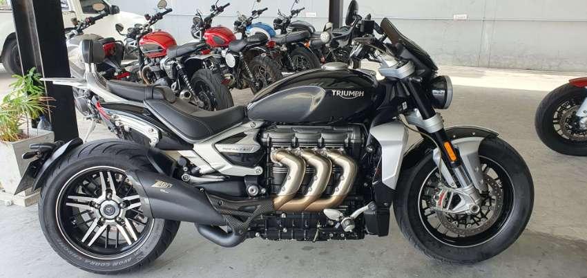 Triumph Rocket III GT