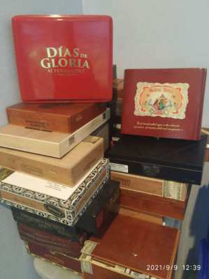 Cigar Boxes (Empty) for Sale