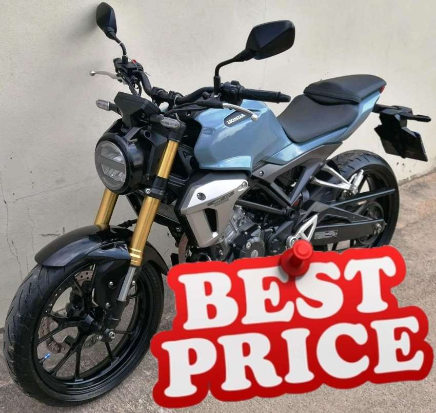 01/2020 Honda CB-150R 3xxx km 54.900 ฿ Finance by shop