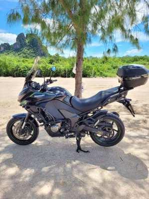Kawasaki Versys 1000 Year 2018 with only 9.xxx km
