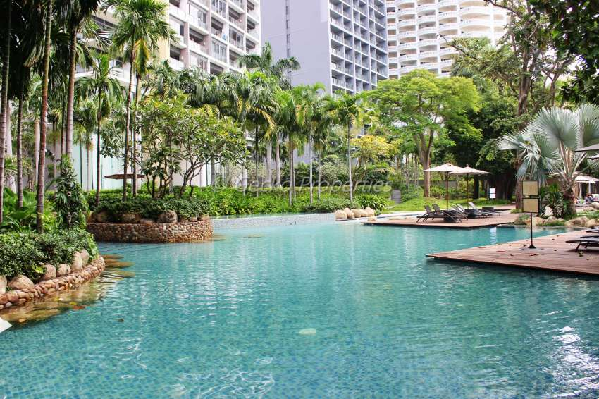 1 bed 1 bath High floor Condo for rent in Wongamat