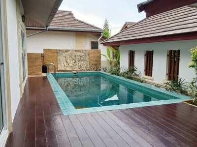 3 bed 3 bath with private pool House for rent in East Pattaya