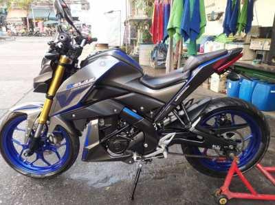 Yamaha M-Slaz 150cc.