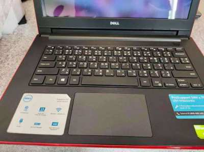 """Dell Inspiron Red i3/14""""/8GB/120SSD/GeForce Graphics 2GB/win10/office"""