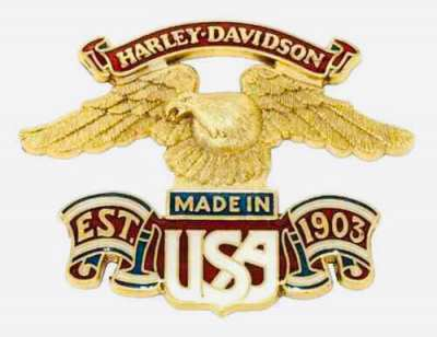 Harley Davidson metal eagle (imported from the US)