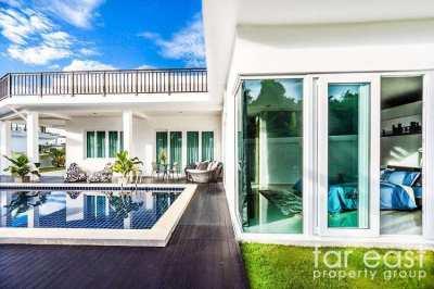 4 Bedroom Pool Villas In Exclusive Village Near Silverlake