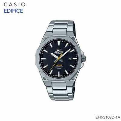 Casio Edifice Super Slim Sapphire Men Stainless FR-S108D-1A