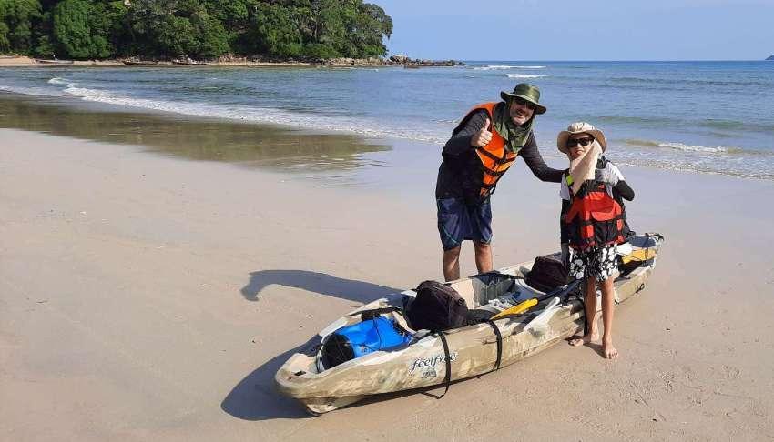 Kayak Feel Free Gemini 2 person 25,000 baht