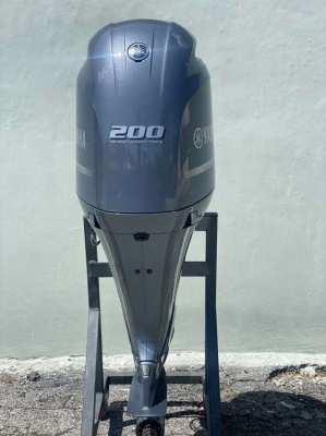 Used Outboard Yamaha 200 HP EFI Motor