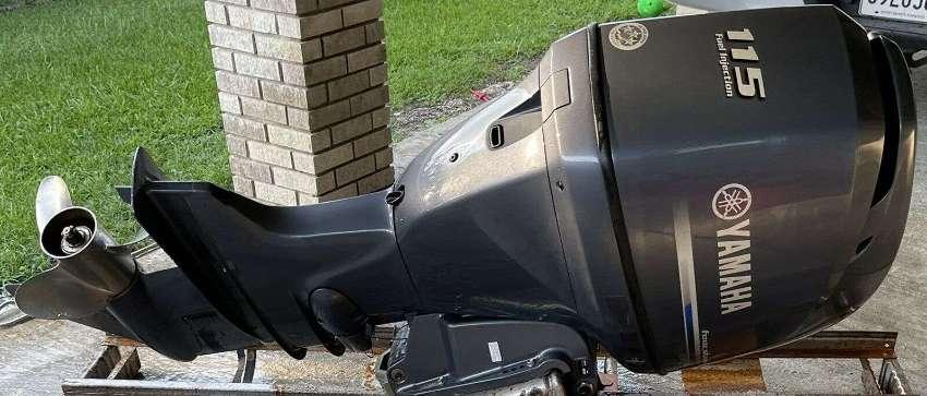 Used Outboard Yamaha 115 HP EFI Motor