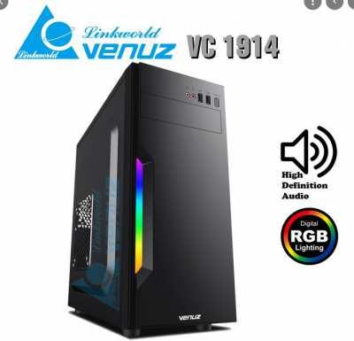 computer Cpu Intel i3 and RGB case