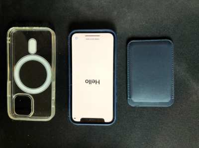 iPhone mini 128gb blue under warranty