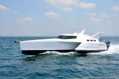 12M Wavepiercer Trimaran For Sale