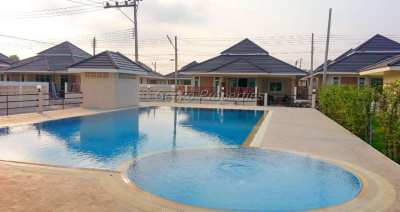 Cheap 2 bed 2 bath house for rent in East Pattaya
