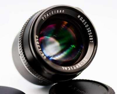 TTArtisan DJ-OPTICAL 50mm F/1.2 Portrait lens in Box