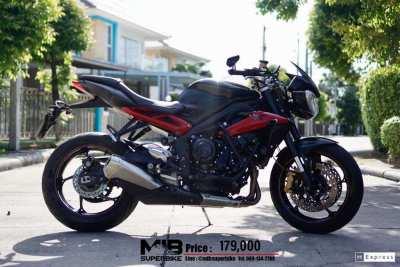[ For Sale ] Triumph Street Triple 675R 2015 Only 7,xxx km