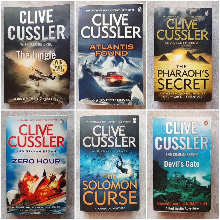 Clive Cussler - A Collection From The Master of Adventure (100b & 65b)
