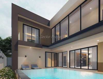 4 bed 5 bath with private pool house for sale in East Pattaya