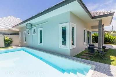 House for sale 3 bedroom 2 bathroom with swimming pool near the city
