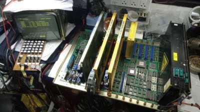 ซ่อม FANUC MITSUBISHI Controller Servo Amplifier จำหน่าย LCD Display