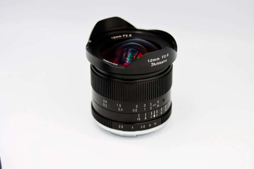 7Artisans 12mm f2.8 Ultra Wide-Angle Lens in Box for Sony E mount