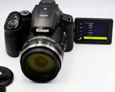 Nikon P900 83x VR Zoom (24-2000mm), 332x Digi zoom, EVF, Wi-Fi, GPS