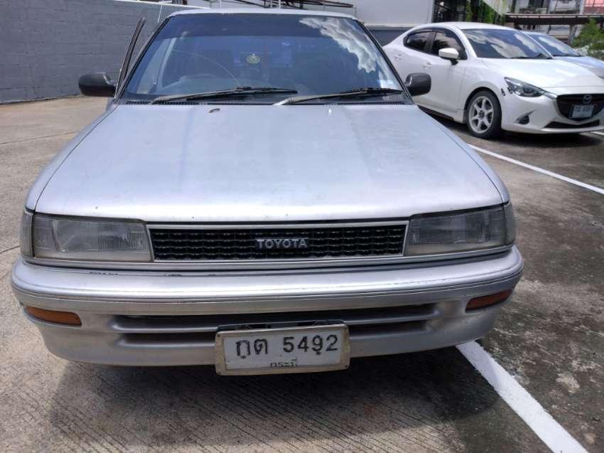 !987 Toyota Corolla, Strong engine, runs and drives  20000 baht
