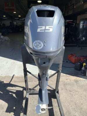 USED Yamaha F25LEA 25 HP 4 Stroke Outboard Motor