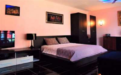 3 Piece Designer Bedroom Set with New Mattress