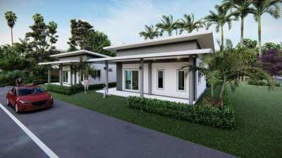 1,490,000 baht for this 3 bedroom house close to 2 great beaches...