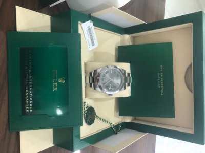 Rolex DateJust 41 Wimbledon Dial