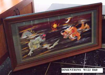 3D Chinese Dragons In Case - Very Good Quality