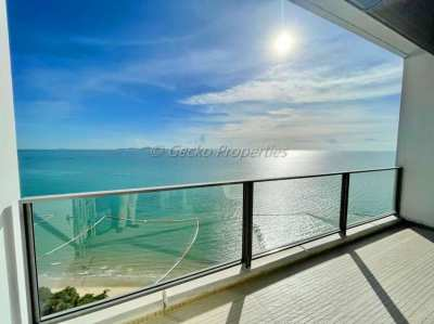 2 bed 2 bath High Floor-Sea View Condo for rent in North Wongamat