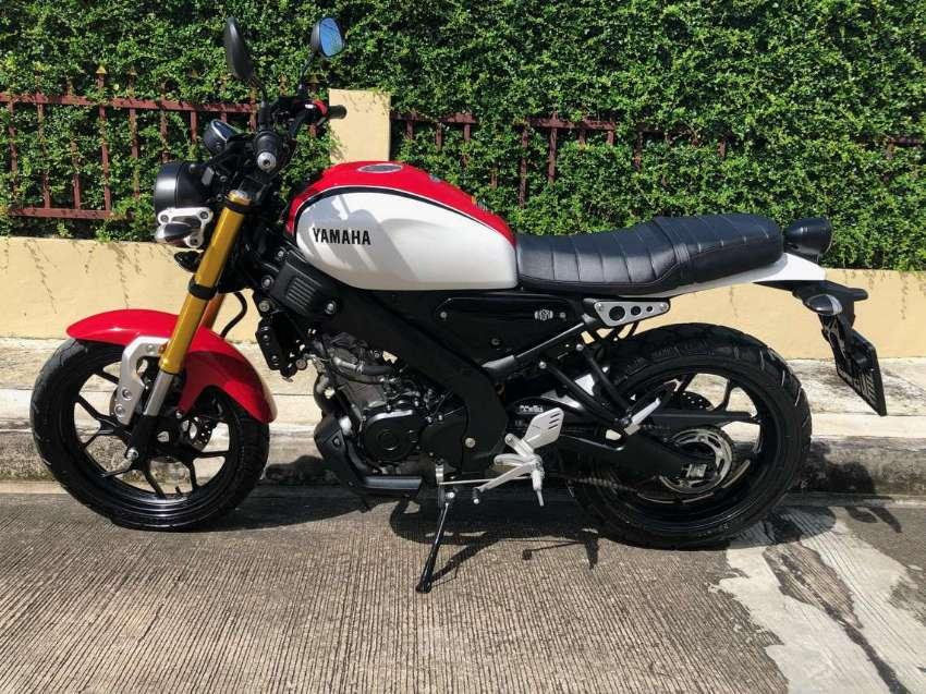 • Yamaha XSR 155 • 2021 • SPORT HERITAGE •