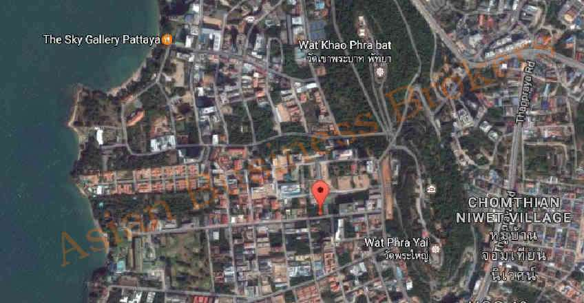 1202008 Land for Sale in South Pattaya Close to the Beach