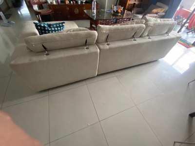 L shape sofa, very comfortable