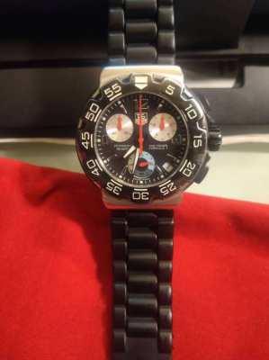 Tag Heuer Formula 1 Chronograph CAC1110-0 Genuine Watch 41mm