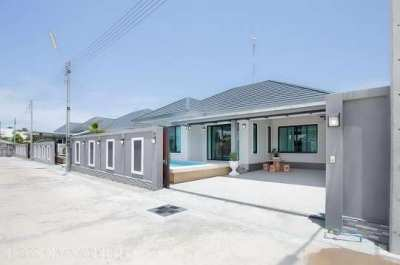 House for sale 3 bedroom 2 bathroom with swimming pool, near the beach