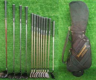 Complete Bridgestone set of golf clubs